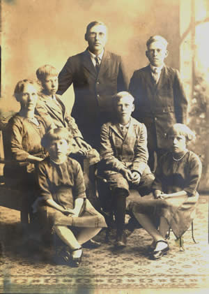 The Hill Family of Herbster, Wisconsin
